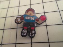 Pin1016b : Pin's Pins / RARE & BELLE QUALITE / THEME : SPORTS / CLUB CPM TENNIS DE TABLE PING-PONG - Table Tennis