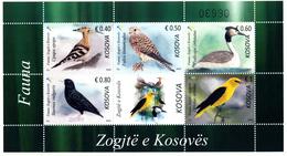 "REPUBLIC OF KOSOVO 2018 - ""FAUNA - Kosovo Birds"" Minisheet (MNH)** - Kosovo"