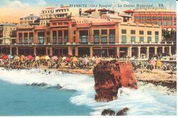 (64) Pyrénées-Atlantiques - CPA - Biarritz - Le Casino Municipal - Biarritz