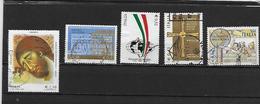 ITALIE 2587/2588/2591/2605/2619 Oblitérés Rond - 2001-10: Usati