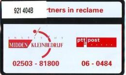 Telefoonkaart  LANDIS&GYR  NEDERLAND * RCZ 921  404b * INSTITUUT MIDDEN KLEINBEDRIJF *   TK * ONGEBRUIKT * MINT - Nederland
