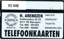 Telefoonkaart  LANDIS&GYR  NED * RCZ 923  404b * ARENDZEN * TK * ONGEBRUIKT * MINT - Nederland