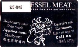 Telefoonkaart  LANDIS&GYR  NED * RCZ 926  404b * VAN MESSEL MEAT * TK * ONGEBRUIKT * MINT - Nederland