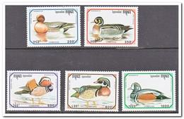 Cambodja 1993, Postfris MNH, Birds, Ducks - Cambodja