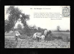 Cpa....en Sologne...le Laboureur....animée.....moulin.....1905.... - Teams