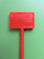 045 - Touilleur - Agitateur - Mélangeur à Boisson - Sirop Teisseire - Orange - Swizzle Sticks