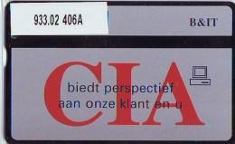 Telefoonkaart  LANDIS&GYR NEDERLAND * RCZ.933.02   406a * CIA Biedt Perspectief Aan Onze Klant  * TK * ONGEBRUIKT *  - Nederland