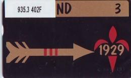 Telefoonkaart  LANDIS&GYR NEDERLAND *  RCZ.935.03   402F * JAMBOREE * SCOUTING  * TK * ONGEBRUIKT * MINT - Nederland
