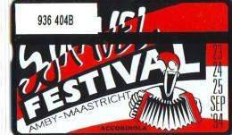 Telefoonkaart  LANDIS&GYR NEDERLAND *  RCZ.936   404b * SJRAVEL FESTIVAL  * TK * ONGEBRUIKT * MINT - Nederland