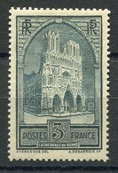 RC 9060 FRANCE N° 259 - 3F CATHEDRALE DE REIMS TYPE IV COTE 77€ NEUF * TB - France