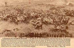 CPA PANORAMA DE LA BATAILLE DE WATERLOO - Militaria