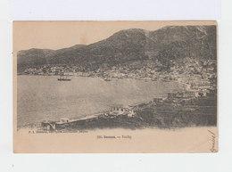 Sur Carte Postale De Samos, Grèce. Timbre Avec Oblitération Paquebot. Cachet Smyrne Turquie D'Asie 1903. (2944) - Levant (1885-1946)