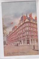 HOTEL BELGAVIA, VICTORIA, SWI. THE HOTEL WITH GARDENS BACH AND FRONT. ED J BURROW & CO LTD. CIRCA 1910's.-TBE-BLEUP - Hotel's & Restaurants