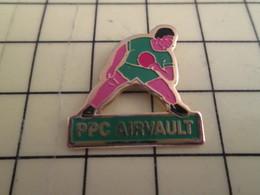 Pin1016c : Pin's Pins / RARE & BELLE QUALITE / THEME : SPORTS / PPC ARVAULT CLUB TENNIS DE TABLE PING PONG - Table Tennis