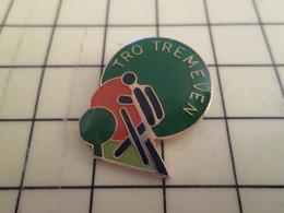 Pin1016c : Pin's Pins / RARE & BELLE QUALITE / THEME : SPORTS /  BRETAGNE TRO TREMEVEN CLUB TENNIS DE TABLE PING PONG - Table Tennis