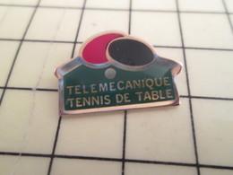 Pin1016c : Pin's Pins / RARE & BELLE QUALITE / THEME : SPORTS /  TELEMECANIQUE CLUB TENNIS DE TABLE PING PONG - Table Tennis
