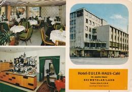HOTEL EULER HAUS CAFE. INH JOACHIM HOPNER. VERLAG HEISTERKAMP. CIRCA 1970's.-TBE-BLEUP - Hotel's & Restaurants