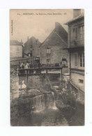 Marcigny. Le Ruisseau, Place Reverchon. (2947) - France