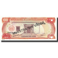 Billet, Dominican Republic, 100 Pesos Oro, 1991, 1991, Specimen, KM:136s1, NEUF - Dominicaine