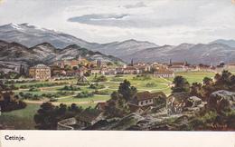CARTE POSTALE ANCIENNE,MONTENEGRO,CETINJE,prés PODGORICA,montagne Calcaire,mont LOVCEN,cma Gora,rare - Montenegro