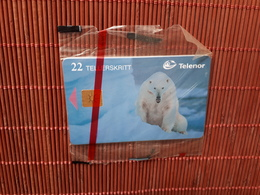 Phonecard Norway Animal New With Blister Only 12.000 Made Very Rare - Norway