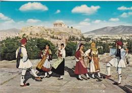 ATHENES. DANES HELLENIQUES. KRUGER. CIRCA 1980's. GRECE.-BLEUP - Griekenland