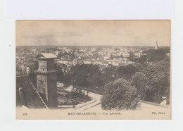 Maisons Lafitte. Cinq Cartes: Vue Générale, Panorama, Place Et Av. Du Château, Le Parc. (2948) - Maisons-Laffitte