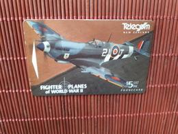 Phonecard New Zealand Airplane ADDB (Mint,New ) Very Rare - New Zealand