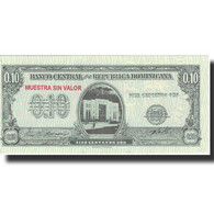 Billet, Dominican Republic, 10 Centavos Oro, Undated (1961), Specimen, KM:86s - Dominicana