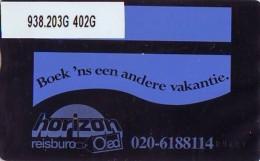 Telefoonkaart  LANDIS&GYR NEDERLAND *  RCZ.938.203G   402G * BOEK 'NS EEN ANDERE VAKANTIE  * TK * ONGEBRUIKT * MINT - Nederland