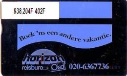 Telefoonkaart  LANDIS&GYR NEDERLAND *  RCZ.938.204F   402F * BOEK 'NS EEN ANDERE VAKANTIE  * TK * ONGEBRUIKT * MINT - Nederland