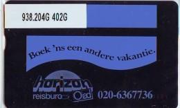 Telefoonkaart  LANDIS&GYR NEDERLAND *  RCZ.938.204G   402G * BOEK 'NS EEN ANDERE VAKANTIE  * TK * ONGEBRUIKT * MINT - Nederland