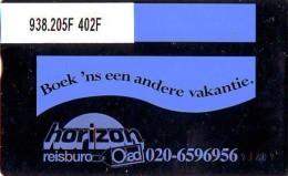 Telefoonkaart  LANDIS&GYR NEDERLAND *  RCZ.938.205F   402F * BOEK 'NS EEN ANDERE VAKANTIE  * TK * ONGEBRUIKT * MINT - Nederland