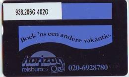 Telefoonkaart  LANDIS&GYR NEDERLAND *  RCZ.938.206G   402G * BOEK 'NS EEN ANDERE VAKANTIE  * TK * ONGEBRUIKT * MINT - Nederland
