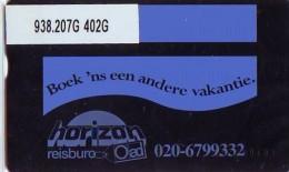 Telefoonkaart  LANDIS&GYR NEDERLAND *  RCZ.938.207G   402G * BOEK 'NS EEN ANDERE VAKANTIE  * TK * ONGEBRUIKT * MINT - Nederland