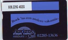 Telefoonkaart  LANDIS&GYR NEDERLAND *  RCZ.938.221G   402G * BOEK 'NS EEN ANDERE VAKANTIE  * TK * ONGEBRUIKT * MINT - Nederland