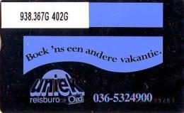 Telefoonkaart  LANDIS&GYR NEDERLAND *  RCZ.938.367G   402G * BOEK 'NS EEN ANDERE VAKANTIE  * TK * ONGEBRUIKT * MINT - Nederland