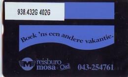Telefoonkaart  LANDIS&GYR NEDERLAND *  RCZ.938.432G   402G * BOEK 'NS EEN ANDERE VAKANTIE  * TK * ONGEBRUIKT * MINT - Nederland