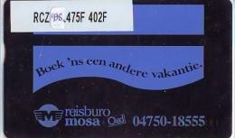 Telefoonkaart  LANDIS&GYR NEDERLAND *  RCZ.938.475F   402F * BOEK 'NS EEN ANDERE VAKANTIE  * TK * ONGEBRUIKT * MINT - Nederland