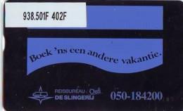 Telefoonkaart  LANDIS&GYR NEDERLAND *  RCZ.938.501F   402F * BOEK 'NS EEN ANDERE VAKANTIE  * TK * ONGEBRUIKT * MINT - Nederland