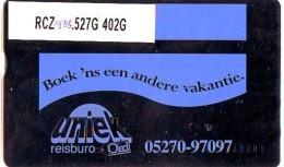 Telefoonkaart  LANDIS&GYR NEDERLAND *  RCZ.938.527G   402G * BOEK 'NS EEN ANDERE VAKANTIE  * TK * ONGEBRUIKT * MINT - Nederland
