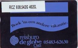 Telefoonkaart  LANDIS&GYR NEDERLAND *  RCZ.938.542G   402G * BOEK 'NS EEN ANDERE VAKANTIE  * TK * ONGEBRUIKT * MINT - Nederland