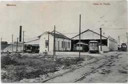 CPA Brésil Brazil Manaos Usine Train Chemin De Fer Station VIACAO Circulé - Manaus