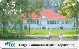 Tonga - TCC - Tonga Visitor Bureau - Remote Mem. Exp.31.12.2012, 10$, Used - Tonga