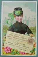 Vers 1880 : CHROMO UNION POSTALE UNIVERSELLE GRANDE BRETAGNE & IRLANDE Fabriques De Porcelaines E. Lelièvre Caen - Other