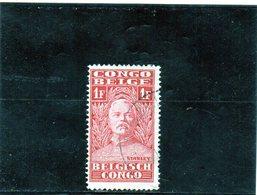 B - 1928 Congo Belga - Sir Henry Morton Stanley - Congo Belga