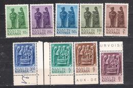 Lot 339 Katanga 1961 Sc Nr 52/6,58/9,61 MNH - Katanga