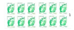 Carnet Marianne Lettre Verte 604-C 1 - Markenheftchen