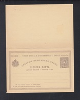 Serbia Stationery With Reply 10 Unused - Serbia