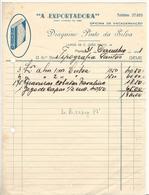 Invoice * Portugal * 1948 * Porto * ''A Exportadora'' Oficina De Encadernação * Holed - Portugal